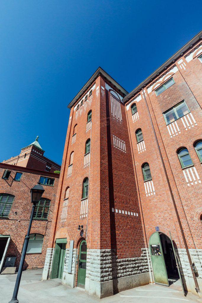 Fasadrenovering Sockerbruket Hus 7 & 9, Göteborg