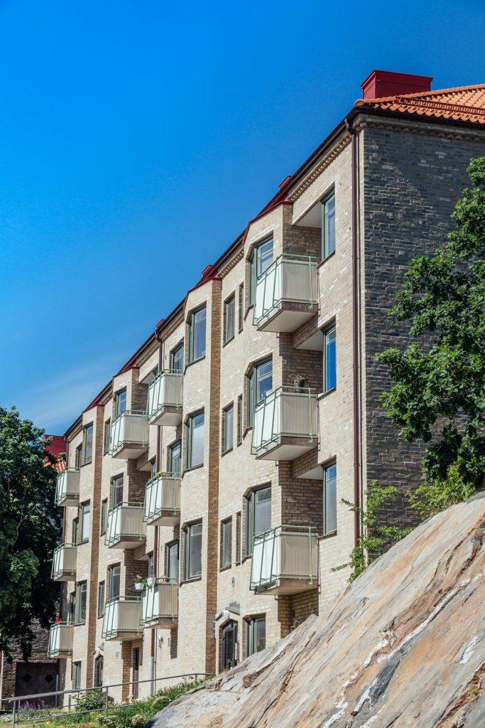 Fasadrenovering Dalheimersgatan 1,3,5, Göteborg