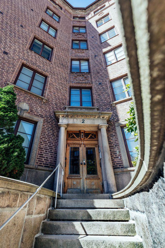 Fasadrenovering Pontus Wiknersgatan 2, Göteborg