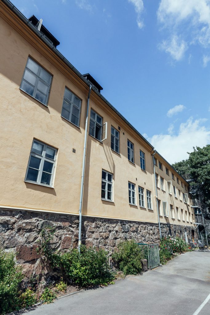 Fasadrenovering Gullbergsbrohemmet, Göteborg
