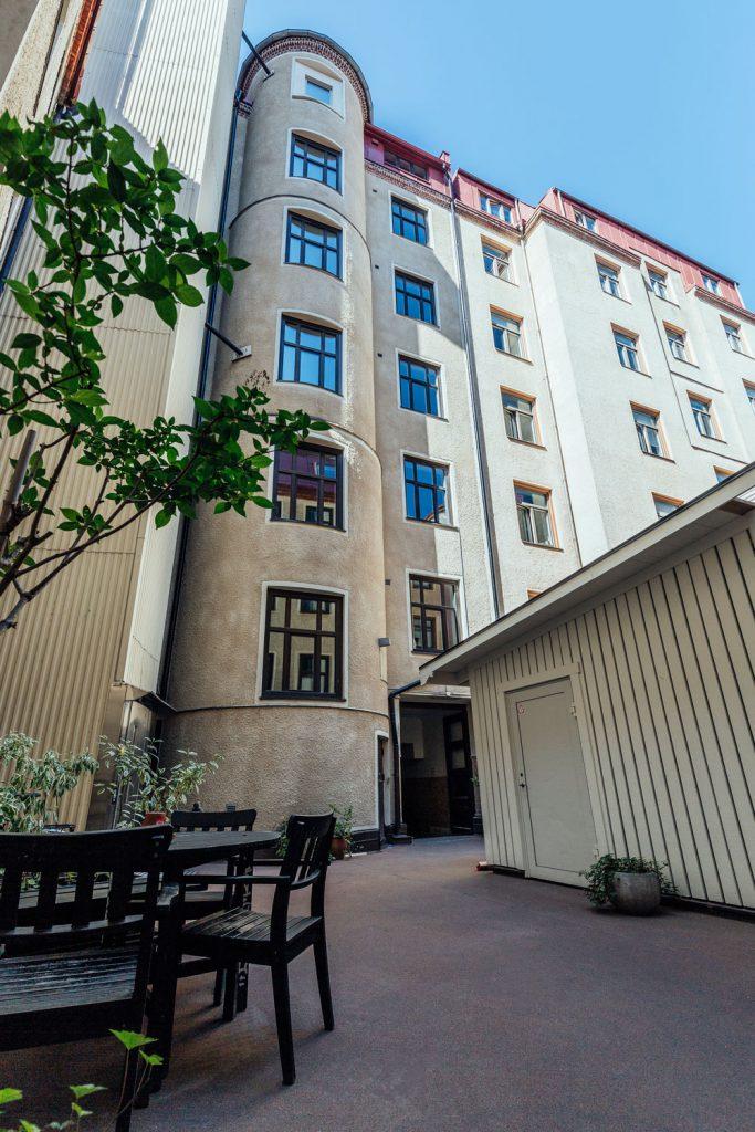 Fasadrenovering Första Långgatan 10, Göteborg